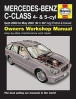 Haynes Manual Mercedes C Class 2000-07 1.8-2.3 Petrol 2.2 2.7 Diesel